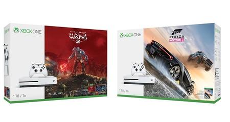 Los nuevos bundles de Xbox One S con Halo Wars 2 y Forza Horizon 3 llegarán a México, estos son sus precios