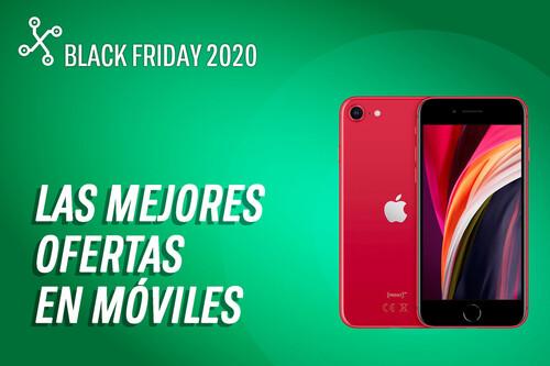 Los 38 mejores móviles en oferta por el Black Friday 2020 hoy 24 de noviembre: iPhone SE 2020 por 411€, Poco X3 por 186€ y más