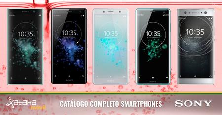 Sony Xperia XZ3, así encaja dentro del catálogo completo de smartphones Sony en 2018