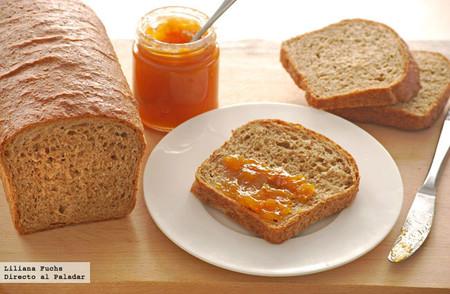 Receta de pan de molde integral sencillo