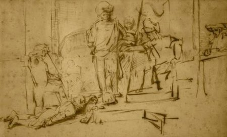 El juicio de Rembrandt robado en el hotel Ritz-Carlton