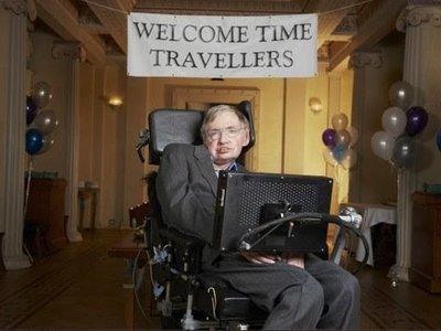 El día en que Stephen Hawking organizó la fiesta del siglo y no fue nadie