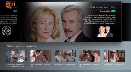 RTVE estrena nueva app en el Apple TV para que veamos sus series
