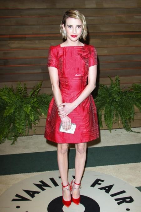 Emma Roberts oscar 2014 vanity fair