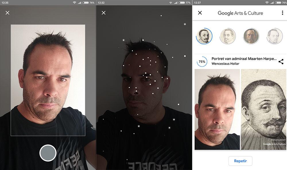 Art Selfie es la divertida herramienta de Google que busca a tu gemelo en obras de arte
