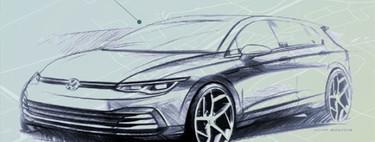 ¡Filtrado! El interior del Volkswagen Golf 2020 se destapa ante la cámara