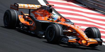 Sutil Spyker F1 2007