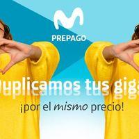 Movistar extiende los gigas duplicados de sus tarifas prepago hasta enero de 2020