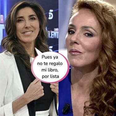 La guarrada de Telecinco a Paz Padilla: su despido de 'Got Talent' con Rocío Carrasco pisándole los talones