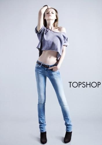 TopShop, colección Denim Primavera-Verano 2010: el vaquero de la mujer joven II