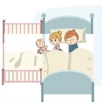 Kit de colecho para unir cualquier cama a la cuna del bebé