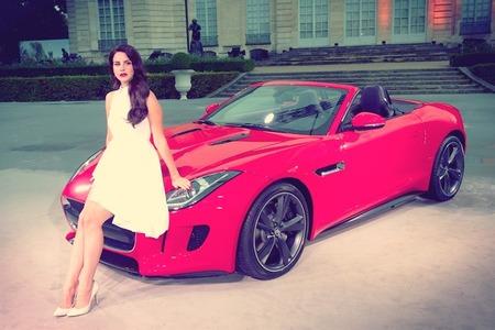 Jaguar f-type lana del rey