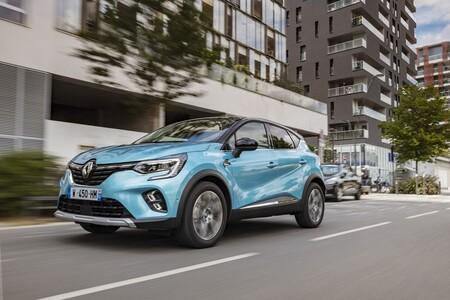 Renault Captur E-Tech SUV híbrido enchufable etiqueta CERO menos de 40.000 euros