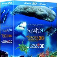Trilogía marina Jean-Michel Cousteau, en Blu-ray, por 8,39 euros en Zavvi
