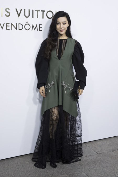 louis vuitton paris celebrities vendome Fan BingBing