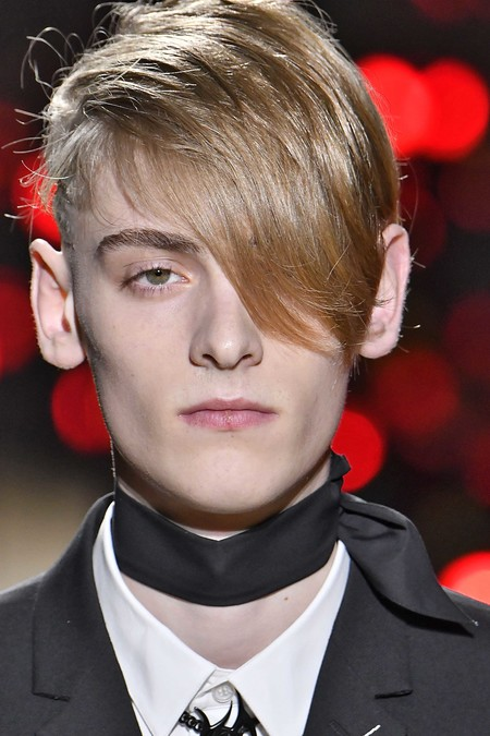 Dior Homme Hair Trends Fall Winter Otono Invierno Tendencias Hombre 2018