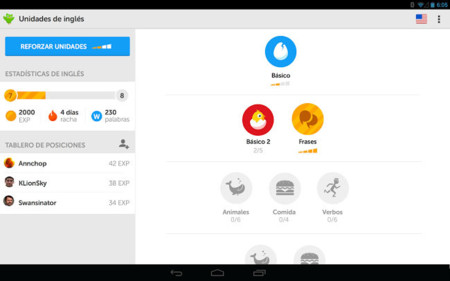 Duolingo pour Android