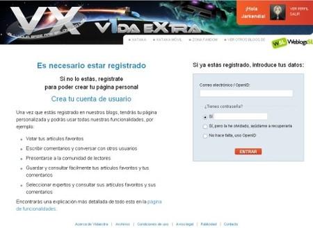 Registrarse en VidaExtra, mucho más fácil y rápido