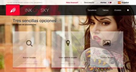 Ink·On·Sky, un sitio para tatuadores y tatuados