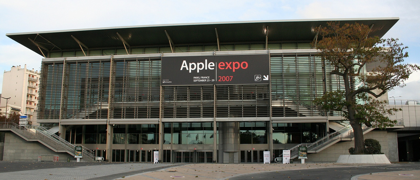 Fotos desde la Apple Expo 2007 en París