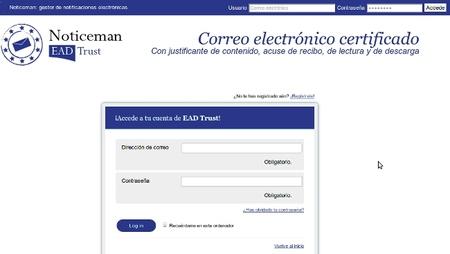 Noticeman, plataforma de correo electrónico certificado para las notificaciones