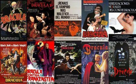 Carteles de películas sobre Drácula