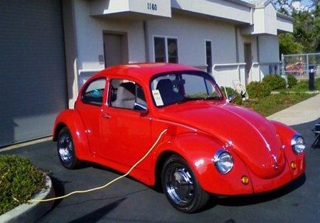 BOB: un Volkswagen Escarabajo del 74 como nuevo (y además eléctrico)