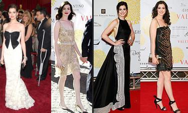 El estilo de Anne Hathaway