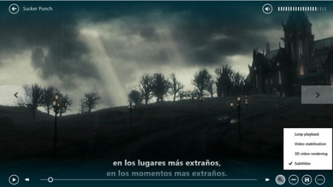 Subtitulos Windows8