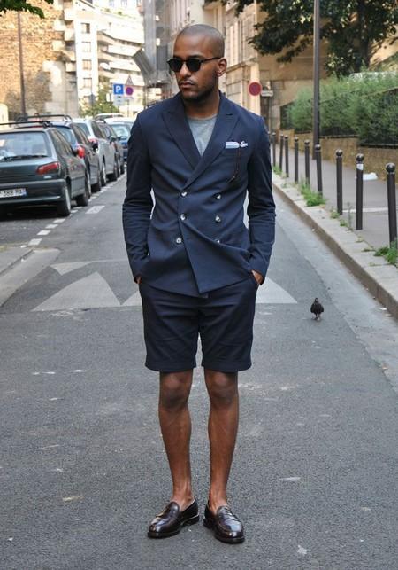 El Mejor Street Style De La Semana Combo Blazer Shors Bermudas Trendencias Hombre 02