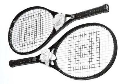Raquetas de tenis by Chanel