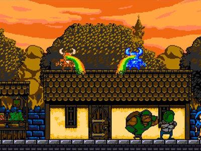 ¿Arcoiris? Lanzan video con gameplay sobre las características del amiibo de Shovel Knight