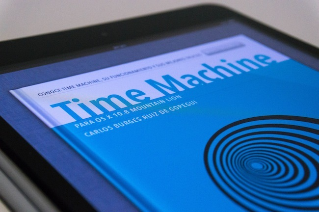 Time Machine iBook portada