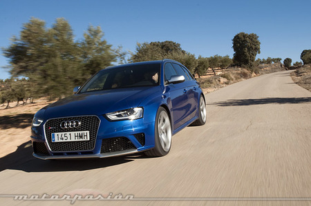 Audi RS4 Avant, prueba (conducción y dinámica)