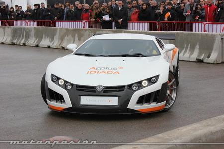 Presentación del Volar-e en el Circuit de Catalunya