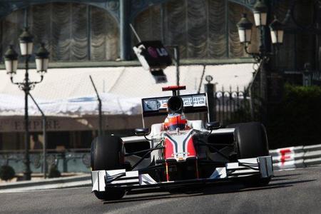 GP de Mónaco F1 2011: Los monoplazas de Hispania están por encima del 107%