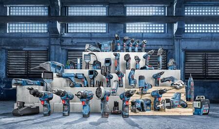 Ofertas del día en Amazon en herramientas Bosch Professional con taladros, sierras o linternas rebajadas