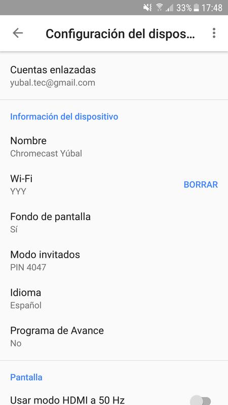 Configura Tu Chromecast