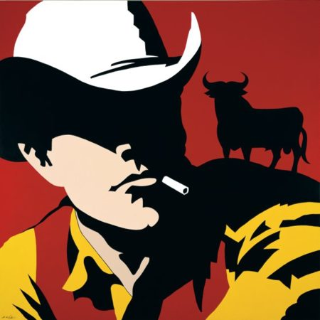 Vaquero Osborne Rojo 100x100 Cm