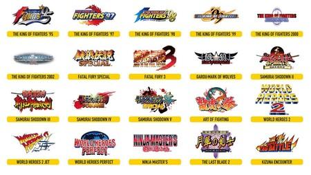 NeoGeo Arcade Stick Pro Juegos