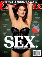Sofía Vergara se pone muy picarona en Esquire... ¡vaya curvas guapa!
