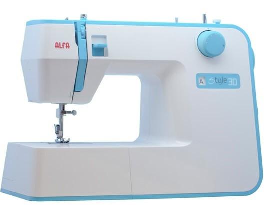 Máquina de coser Alfa Style30 con 19 puntadas
