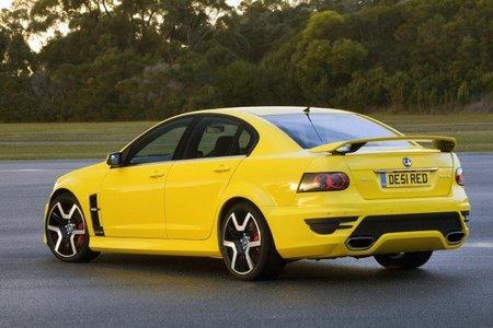 Vauxhall VXR8 rear