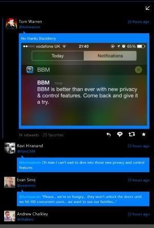 Vista Conversacion Tweetium