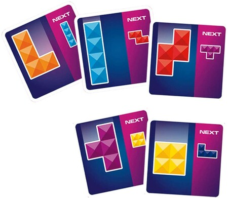 Juego de cartas de Tetris con descuento en Amazon México
