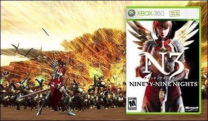 Ninety-Nine Nights de XBox 360: demo disponible