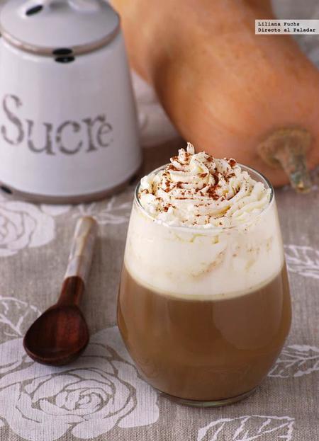 Pumpkin Spice Latte. Receta de café con leche de calabaza especiado