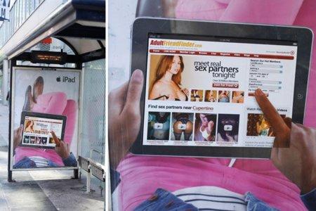 Porno en el iPad, Apple sufre en sus carnes el Adbusting
