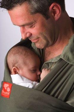 Tricot-slen: 6 formas de llevar al bebé