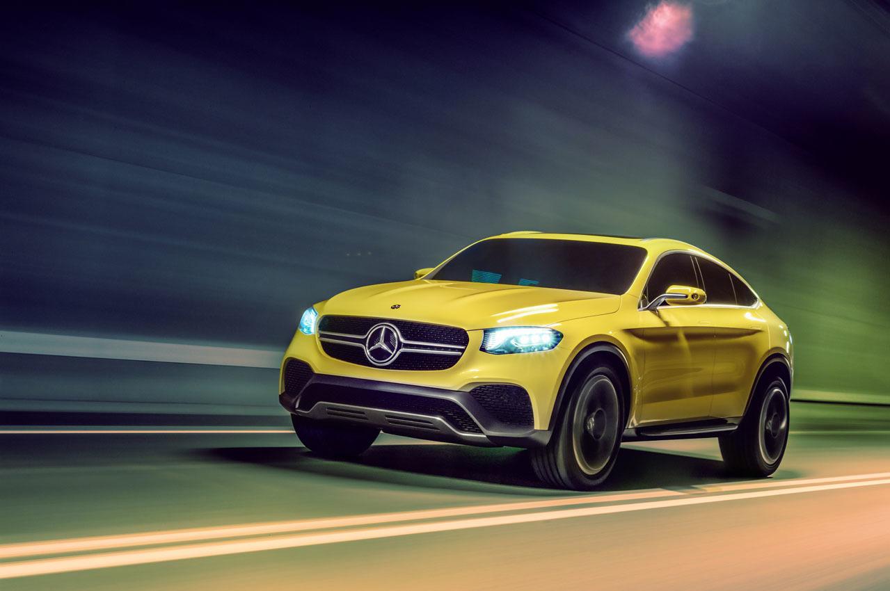 Foto de Mercedes-Benz Concept GLC Coupé (13/14)
